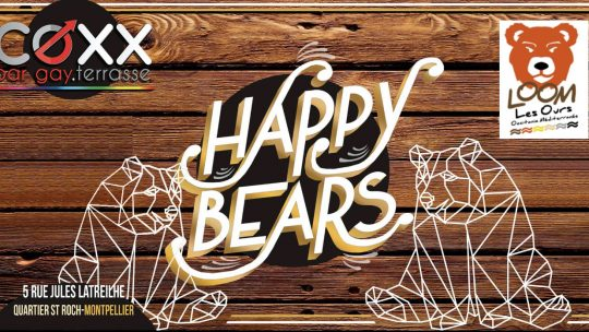 Happy Bears au COXX (13 Mars)