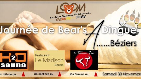 Journée de Bear's Dingue à Béziers