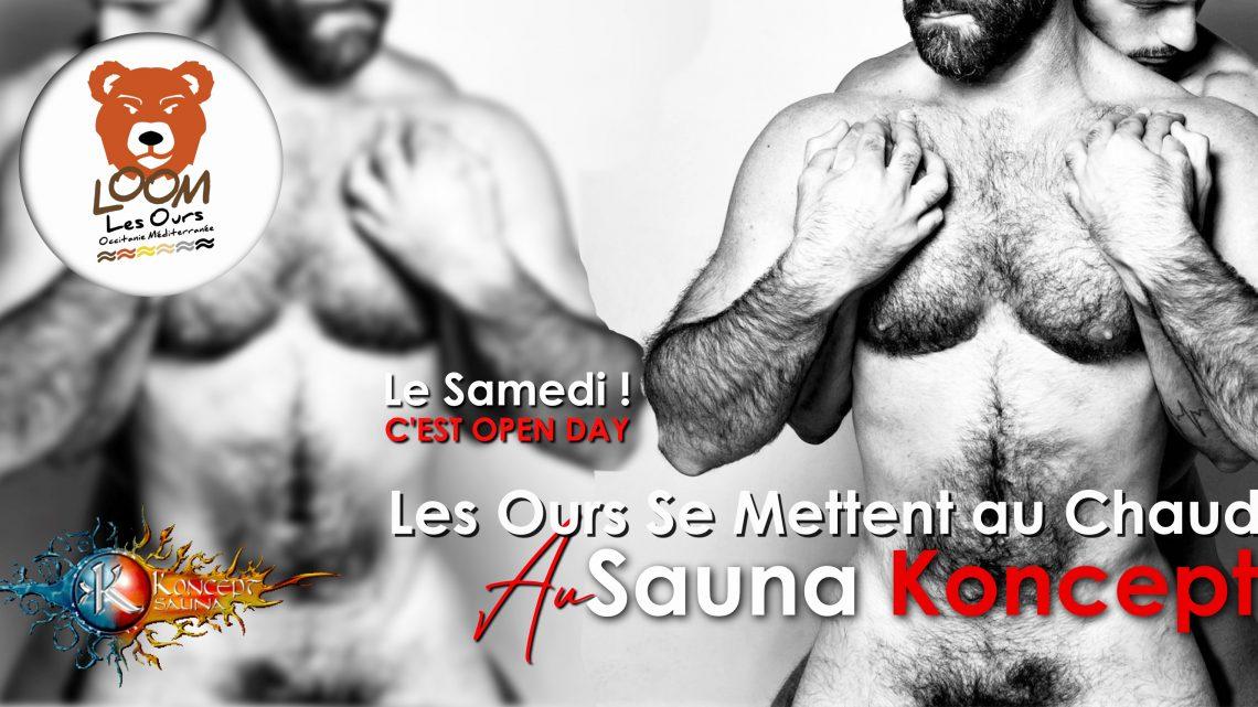 Open Day ! Les Ours Se Mettent Au Chaud ! Koncept Sauna (7 Mars)