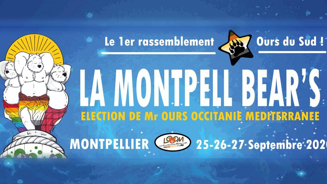 La Montpell Bear's 2020 – Réservez Votre Week-end (25-26 & 27 Septembre)