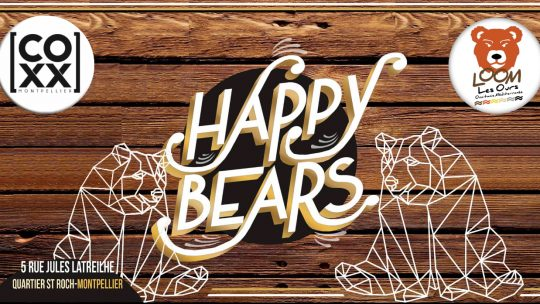 Happy Bears au COXX