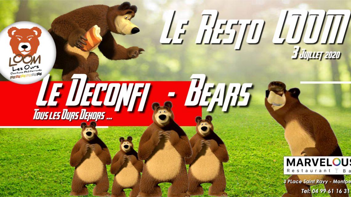 Le Déconfi Bears – Resto Marvelous