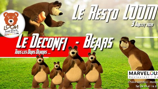Le Déconfi Bears – Resto Marvelous
